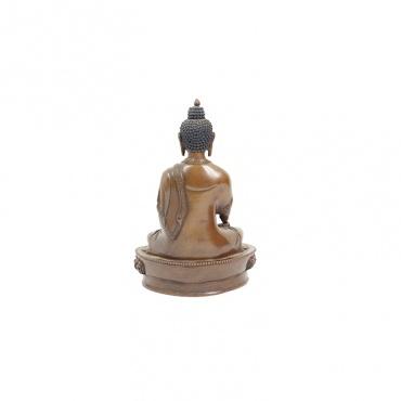 statue du bouddha en métal 16 cm