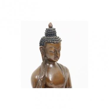 statue du bouddha shakiamuni visage apaisant