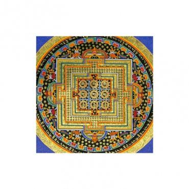 mantra padmasambhava peint sur toile