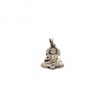 pendentif en argent bouddha de la protection