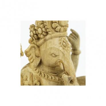 statue de ganesh en bois divinité indoue