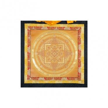 peintur bouddhiste kalachakra or