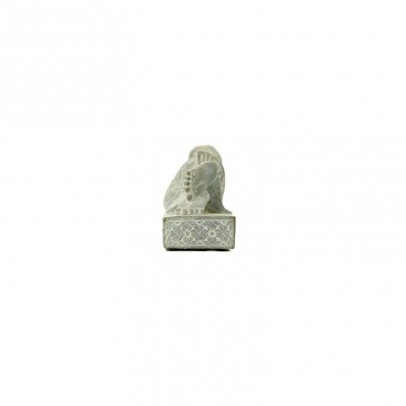 statue bouddha paranirvana en pierre himalaya