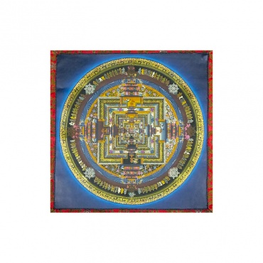 peinture kalachakra temple des dieux