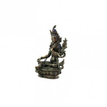 statue 23 cm de tara verte