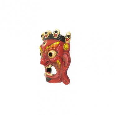 masque tibétain effrayant de mahakala