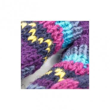 moufle gants mitaines à capuche doublée laine polaire