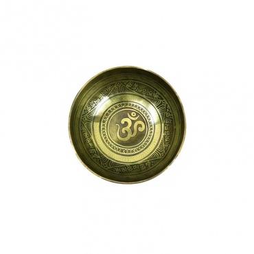 bol tibétain 7 métaux OM AUM 1er chakra