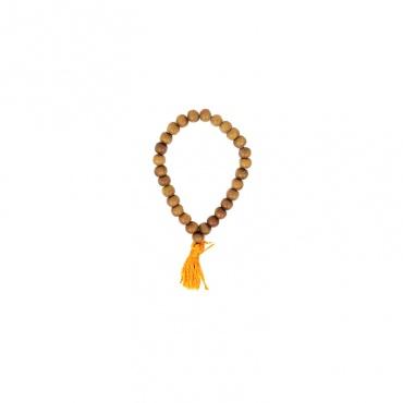 bracelet mala en bois de santal