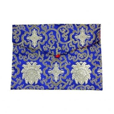 Pochette Bleue A4