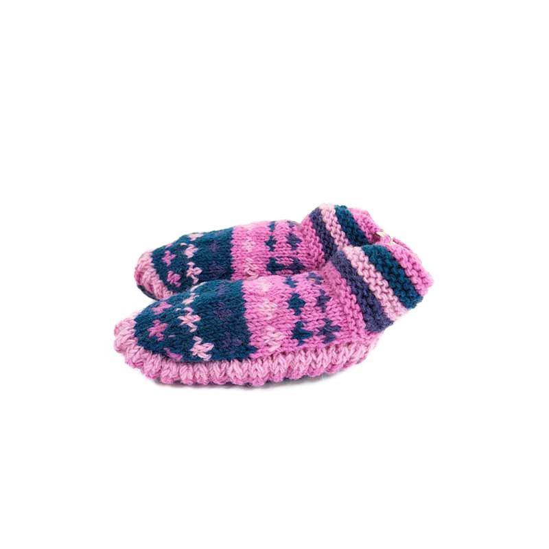 chausson de nuit cocooning détente laine doublée fleece