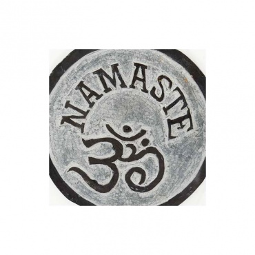 pierre himalayenne gravée OM Namaste