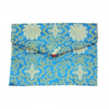 Pochette Turquoise A4