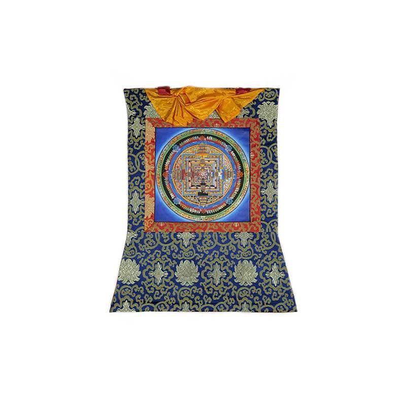 tangka peinture bouddhiste kalachakra