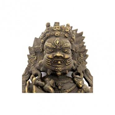 vajrakilaya sur une dague poignard bouddhiste