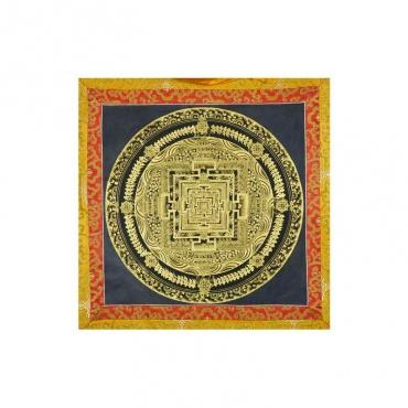 peinture tibétaine tangka mandala