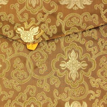 Pochette dorée A4