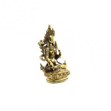 statue de bouddha compassion tara blanche