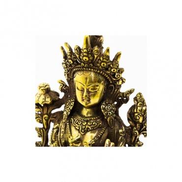 statue bouddha féminin tara blanche