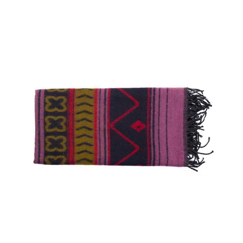 châle écharpe couverture chaude et douce motifs géométriques
