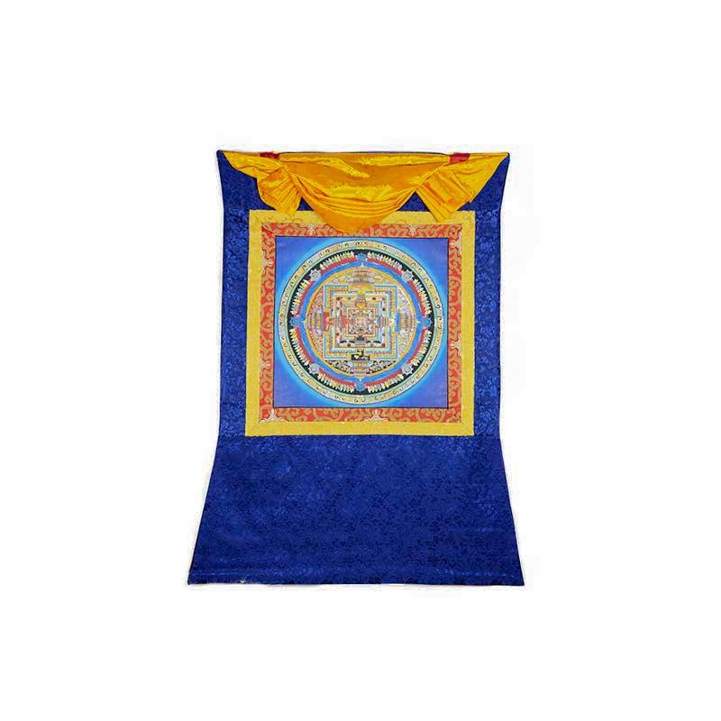 mandala de la vie bouddhiste tibétain kalachakra