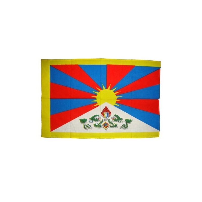 Drapeau du Tibet xl