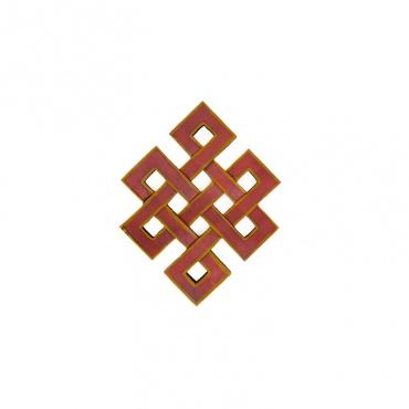 nœud sans fin nœud glorieux nœud d'éternité bouddhiste