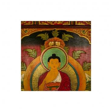 tableau peinture bouddhiste bouddha shakyamuni bouddha primordial