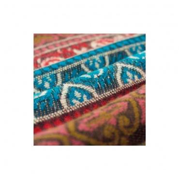 châle écharpe couverture colorée originale méditation