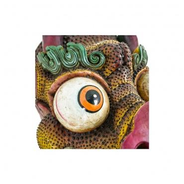 masque dragon effrayant bouddhisme tibétain