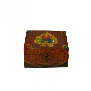 boite tibétaine tigre et joyau