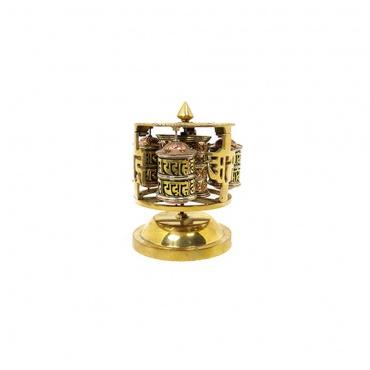 moulins de prières tibétaines pour poser
