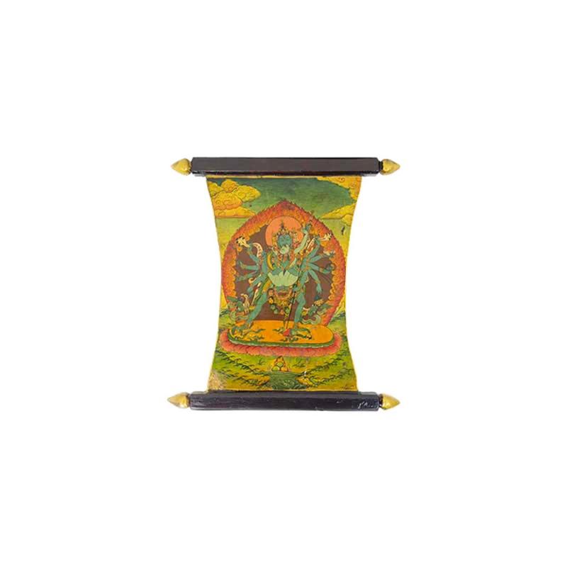 tableau peinture chakrasamvara bouddhiste tibet