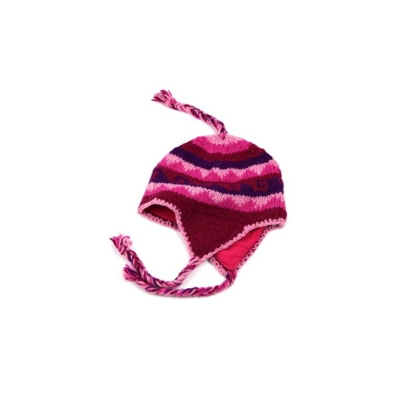 Bonnet oreille  rose