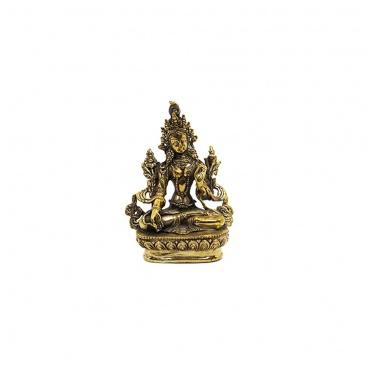 statue de tara blanche 14 cm