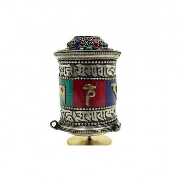 moulin de prières tibétaines pour la table