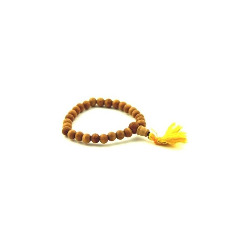 Bois de santal bracelet mala 8mm