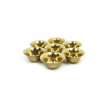 sept petits bols à offrandes bouddhiste