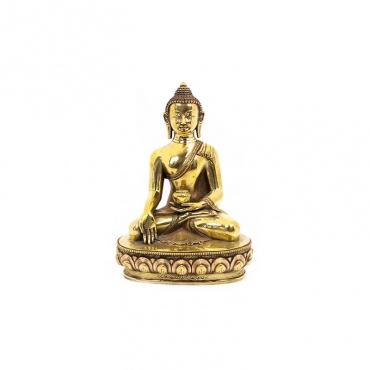 Statue de bouddha 26 cm mudra du don et bol