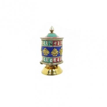 moulin de prières tibétains 20 cm