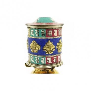 prières tibétaines et signes porte-bonheur bouddhistes