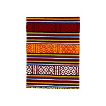 carnet papier lokta couverture tissu traditionnel Népal
