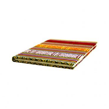 cahier en papier et tissu traditionnel Népal