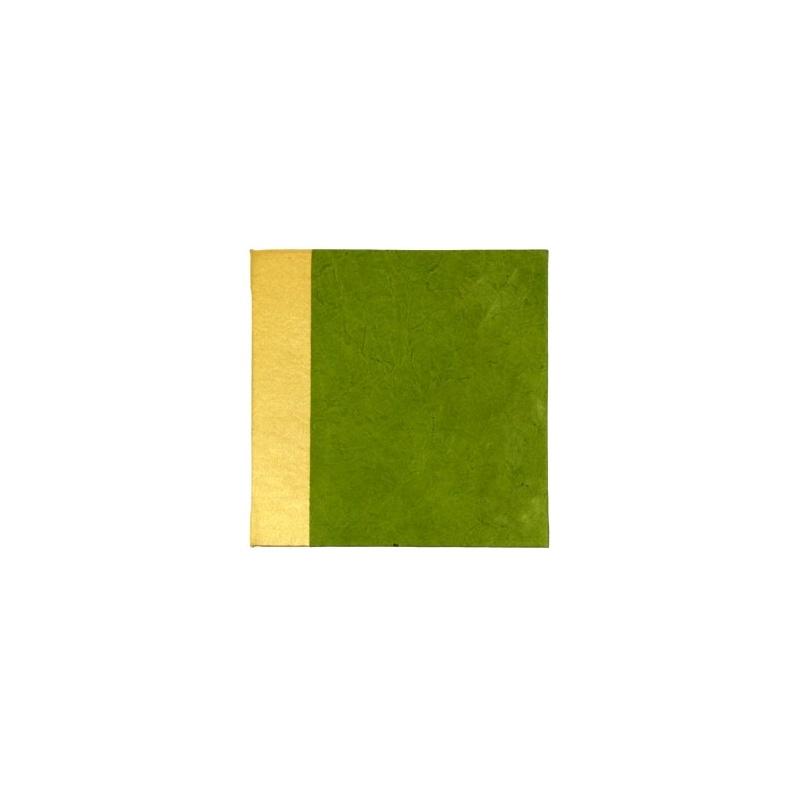 précieux carnet en papier lokta