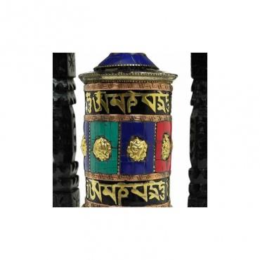 moulin à prières tibétain