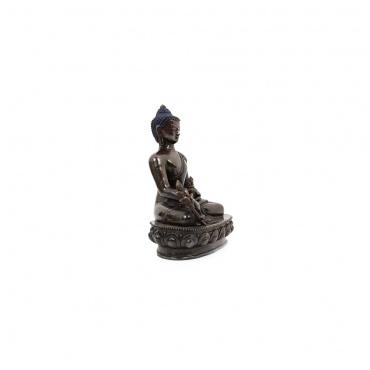 statue du bouddha médecine bouddhisme tibétain