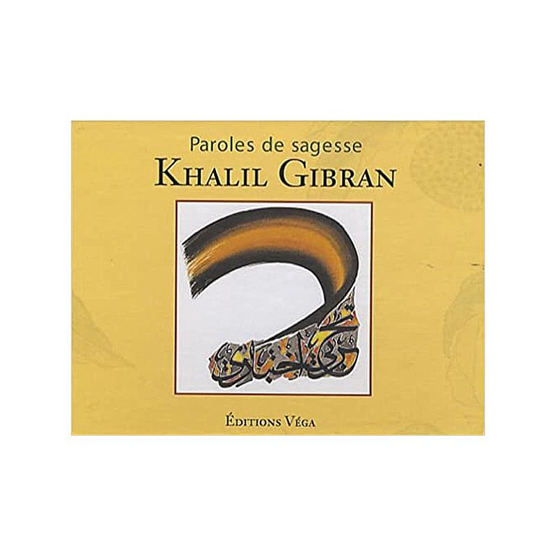 Khalil Gibran - Paroles de sagesse livre et 40 cartes