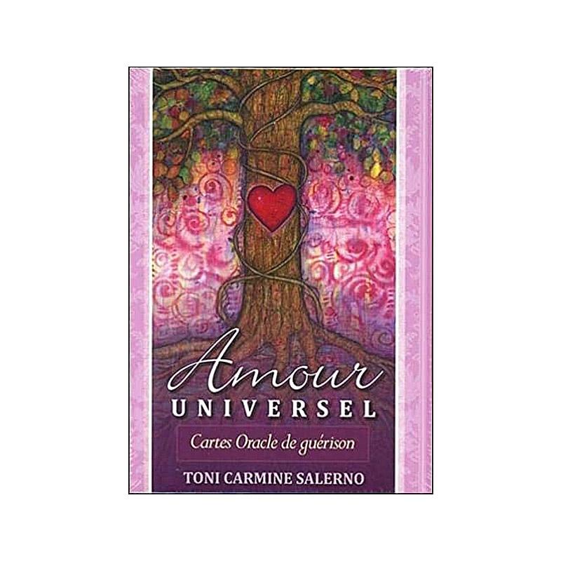 carte oracle de guérison Amour Universel-Toni Carmine Salerno