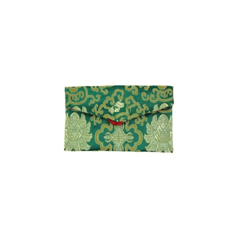 Pochette Etui vert S