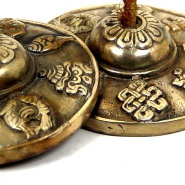 Cymbales Tibétaines - Porte-bonheur
